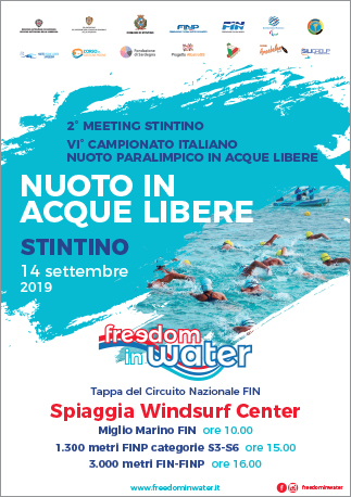 Freedom in Water - GAre acque libere settembre 2020